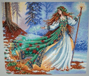 Completed Woodland Enchantress 26/11/2009