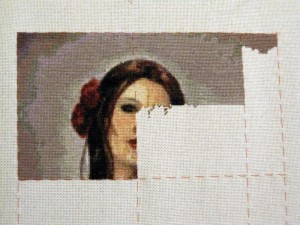 Fairy Tales haed quick stitch cross stitch