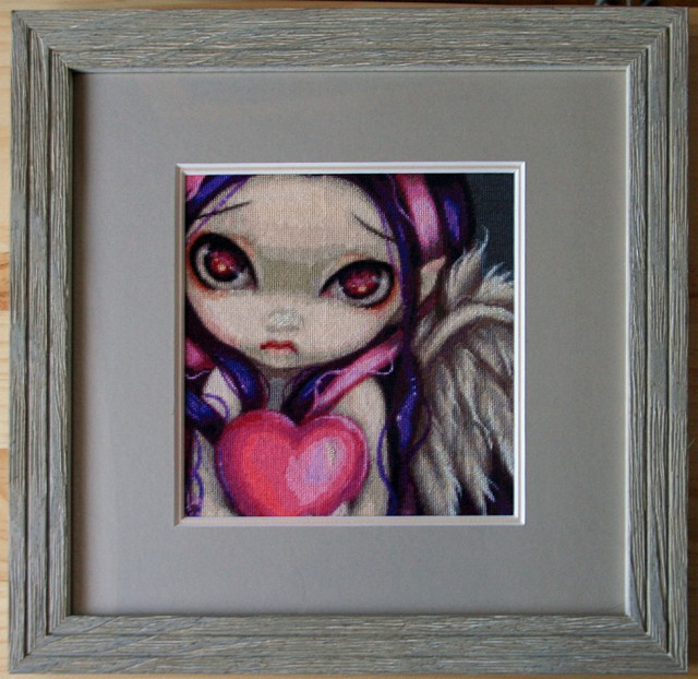 Faces of Faery 70 Framed