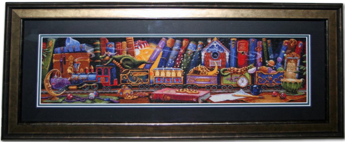 Train of Dreams Framed