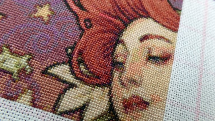 Nikki talks through her cross-stitch projects as of End May 2016