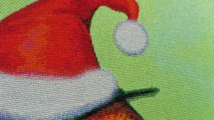 Santa Owl 25th June closeup